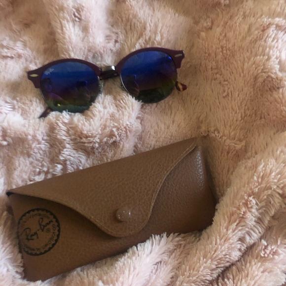 Raybans rainbow lens sunglasses. Make an offer!